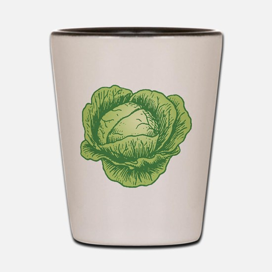 Cabbage Shot Glass