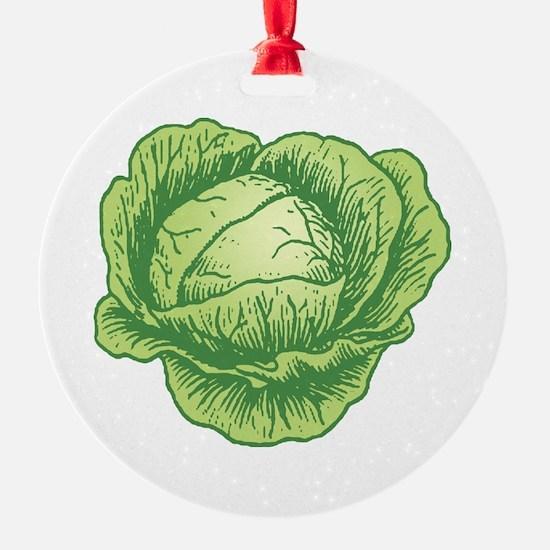 Cabbage Ornament