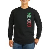 Mexico Long Sleeve T-shirts (Dark)