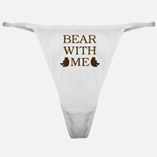 Bear With Me Classic Thong