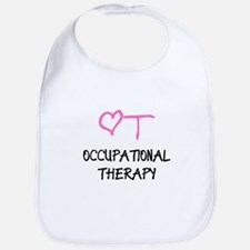 OT Heart Occupational Therapy Bib