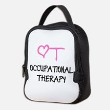 OT Heart Occupational Therapy Neoprene Lunch Bag