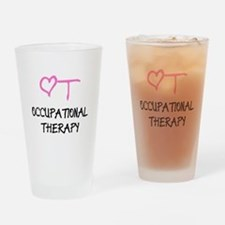 OT Heart Occupational Therapy Drinking Glass