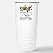 Cute Military family Travel Mug