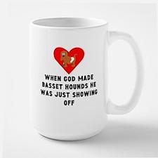 When God Made Basset Hounds Mugs
