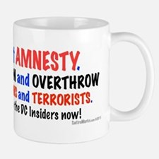 Stop The Invasion Mugs