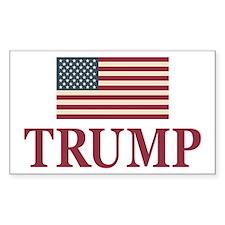 Trump 2016 Flag Decal