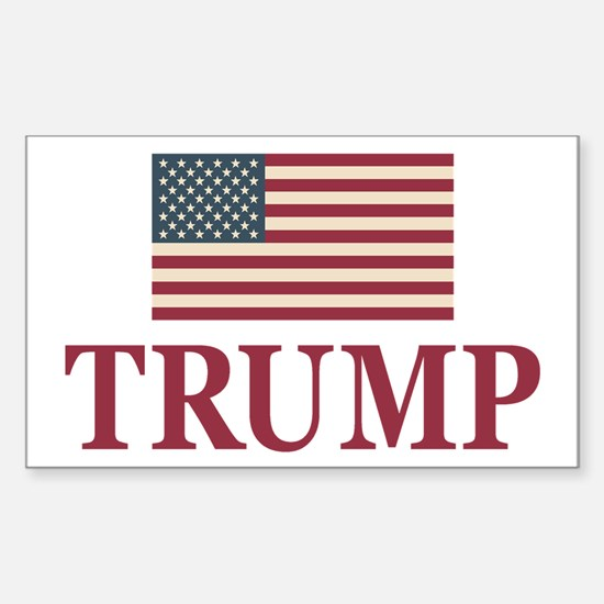 Trump 2016 Flag Decal