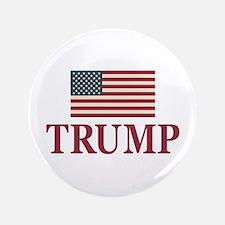 Trump 2016 Flag Button