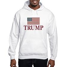 Trump 2016 Flag Hoodie