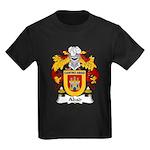 Abad Family Crest Kids Dark T-Shirt