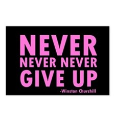 NeverGiveUp9.png Postcards (Package of 8)