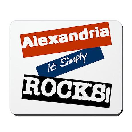 Alexandria Rocks Mousepad