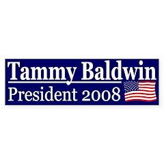 Tammy Baldwin 2008 (bumper sticker)