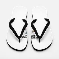 Hermosa Beach, California Flip Flops