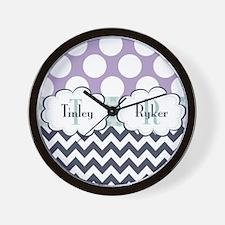 Tinley & Ryker Wall Clock