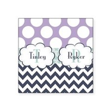 "Tinley & Ryker Square Sticker 3"" x 3"""
