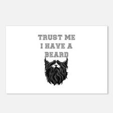 Trust Me I have a Beard Postcards (Package of 8)