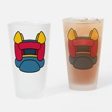 Bouncy Castle Drinking Glass