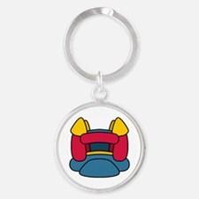 Bouncy Castle Keychains