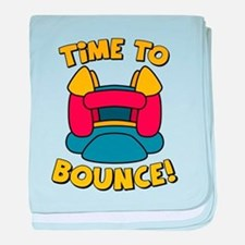Time To Bounce baby blanket