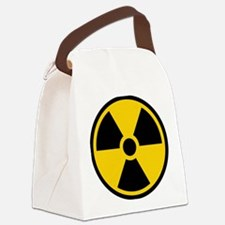 Radioactive Symbol Canvas Lunch Bag