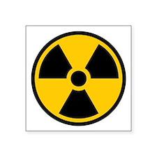 Radioactive Symbol Sticker