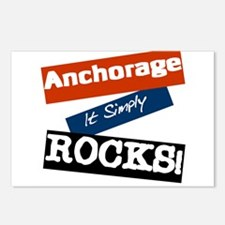 Anchorage Rocks Postcards (Package of 8)