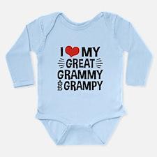 I Love My Great Grammy Long Sleeve Infant Bodysuit