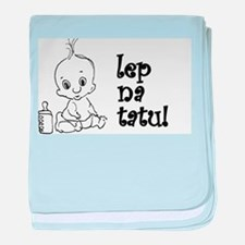 Funny Serbia baby blanket