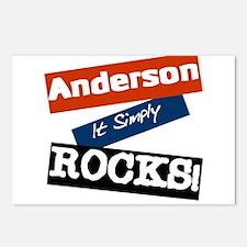 Anderson Rocks Postcards (Package of 8)