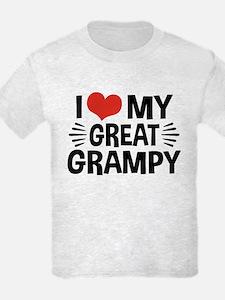 I Love My Great Grampy T-Shirt