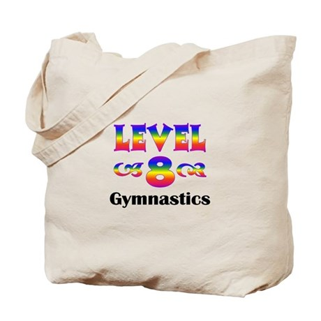 Level 8 Gymnast Tote Bag
