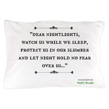 """""""Nightlights"""" Happy Thoughts Pillow Case"""
