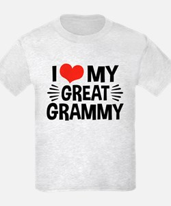 I Love My Great Grammy T-Shirt