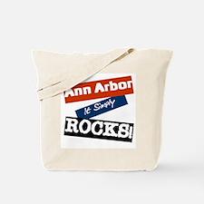 Ann Arbor Rocks Tote Bag