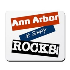 Ann Arbor Rocks Mousepad