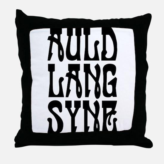 Auld Land Syne Throw Pillow