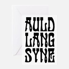 Auld Land Syne Greeting Cards