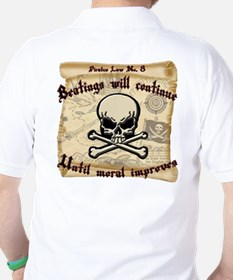 Pirates Law #8 T-Shirt