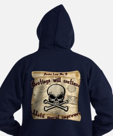Pirates Law #8 Hoodie (dark)