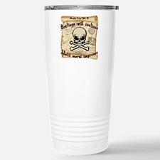 Pirates Law #8 Travel Mug