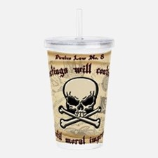 Pirates Law #8 Acrylic Double-wall Tumbler