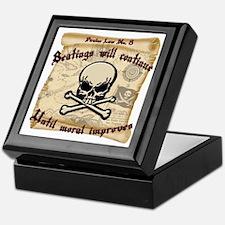 Pirates Law #8 Keepsake Box