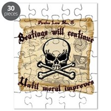 Pirates Law #8 Puzzle