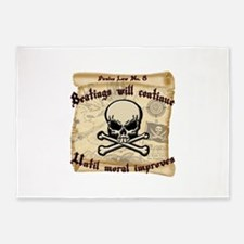Pirates Law #8 5'x7'Area Rug