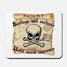 Pirates Law #8 Mousepad