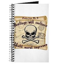 Pirates Law #8 Journal
