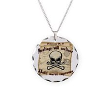 Pirates Law #8 Necklace
