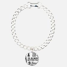 1 BJ Is Better Than 9 Yanks Bracelet